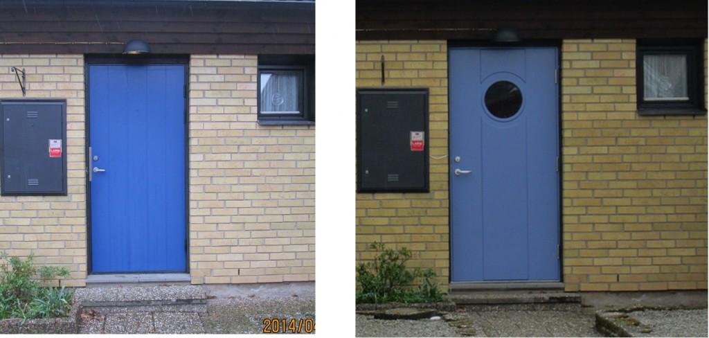 Nya dörren